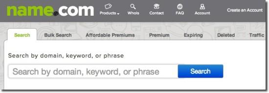 domain name suggestions name.com