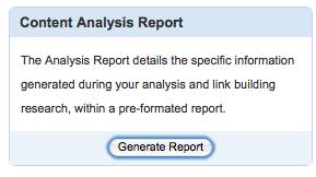 scribe seo analysis report