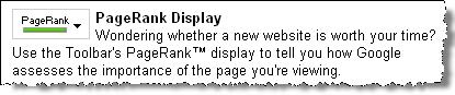 what is page rank description