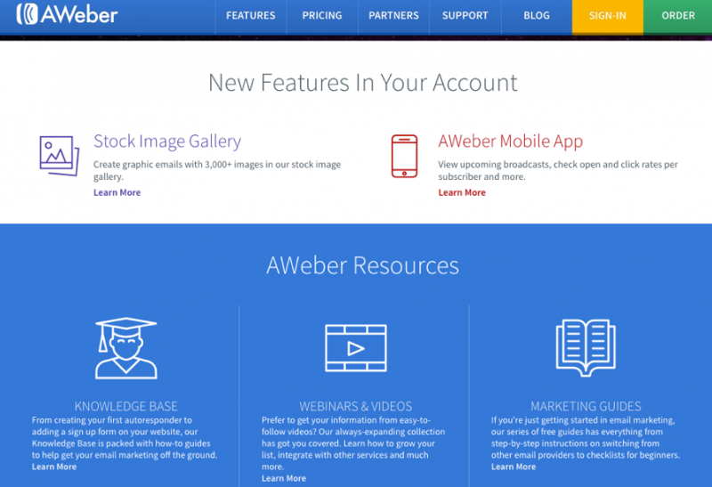 Traffic Generation Café runs on Aweber email autoresponder