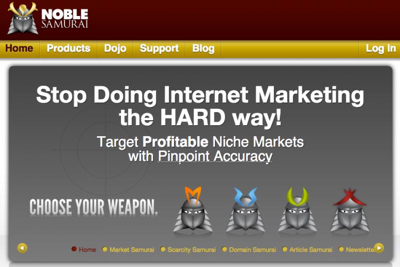 Get your Market Samurai Keyword research tool