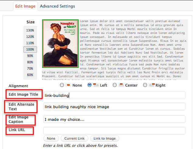 how to ad image tags