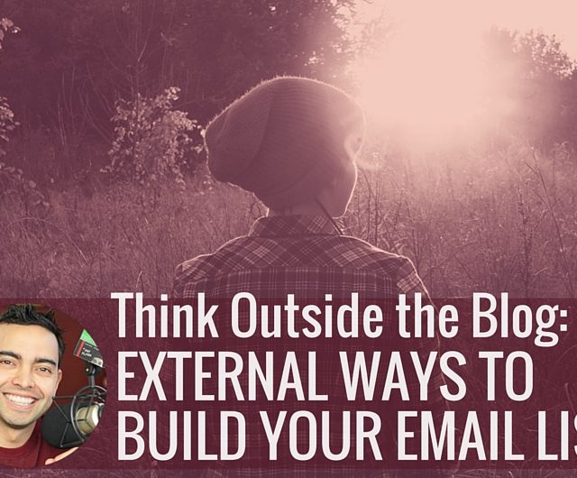 How to build email list externally with Pat Flynn