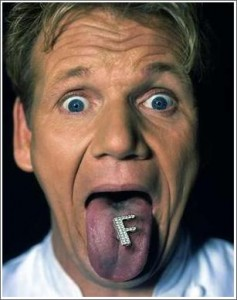 traffic generation with Gordon Ramsay