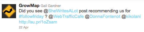 how to increase traffic through Twitter alliance
