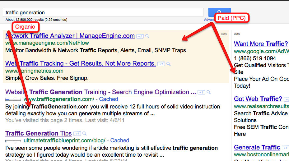 Where Does Website Traffic Come From: Search Engine and Referral Traffic