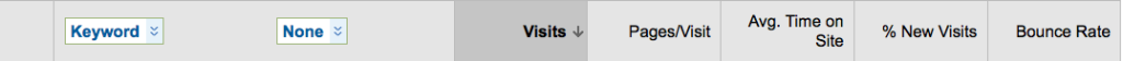 google analytics settings