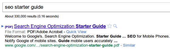 pdf search engine ranking