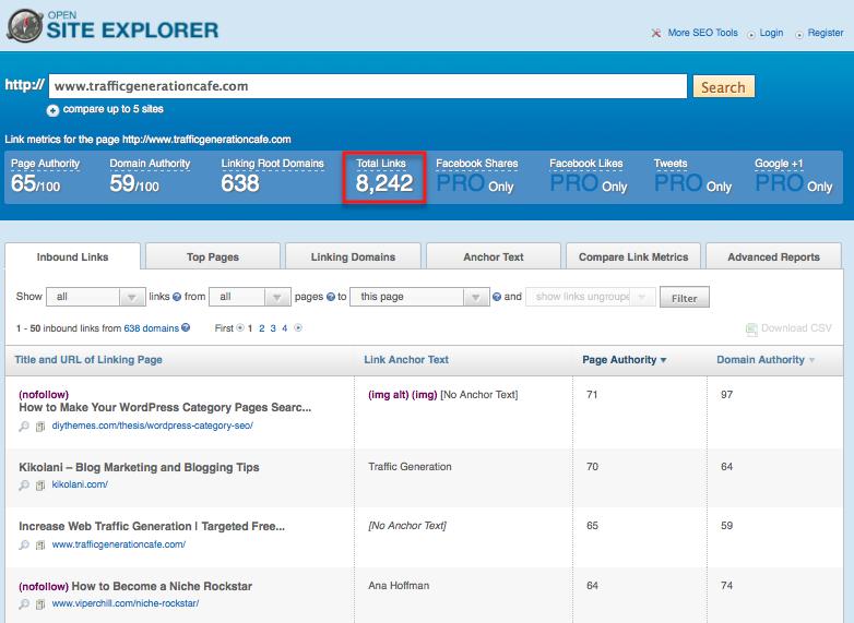 open site explorer backlink checker alternative