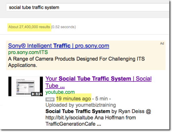 social tube video on google