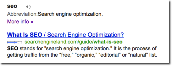 What is seo by search engine land
