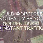 Can a wordpress ping result in traffic?
