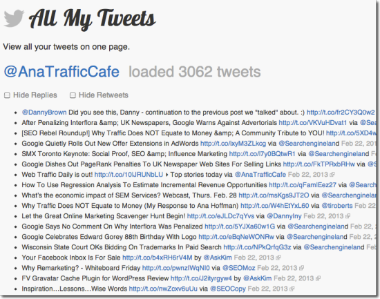 allmytweets tool