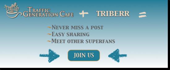join triberr Traffic Generation Café