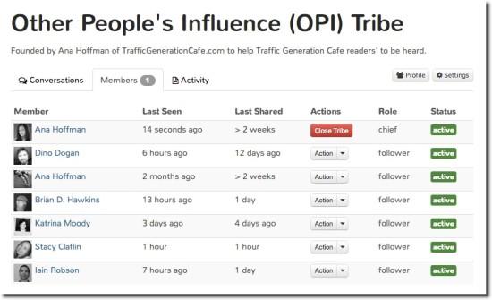 my triberr tribe