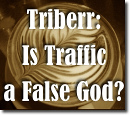 triberr web traffic