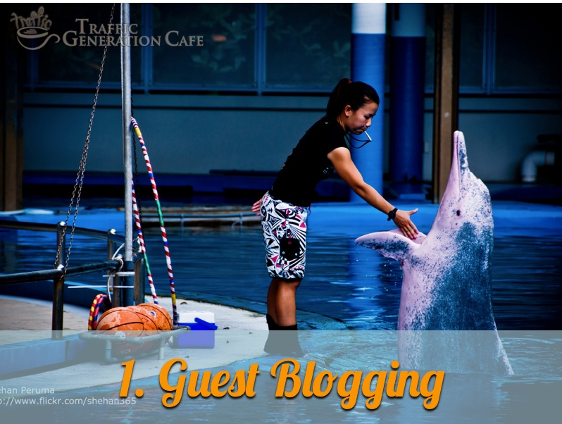 get traffic from guest blogging