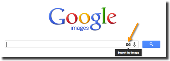 search by image on Google