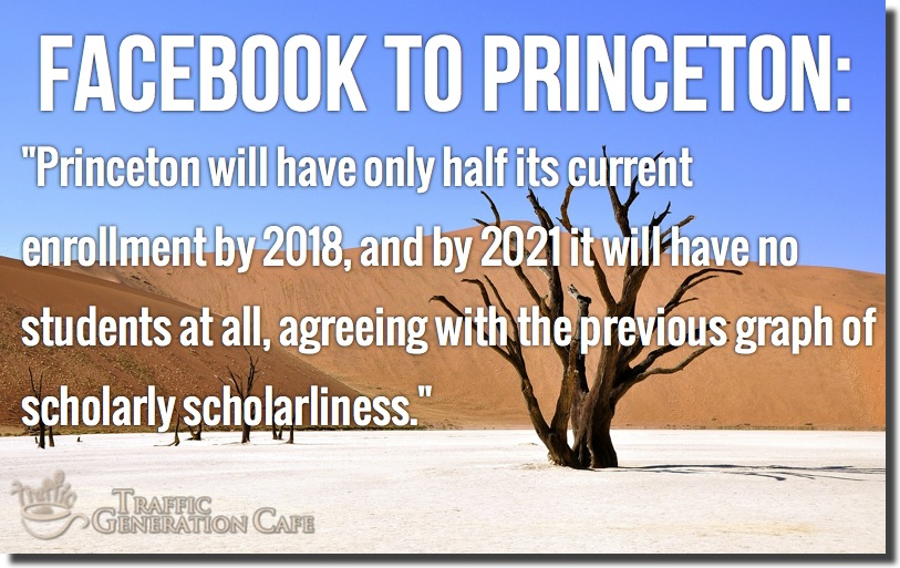 facebook to princeton retort