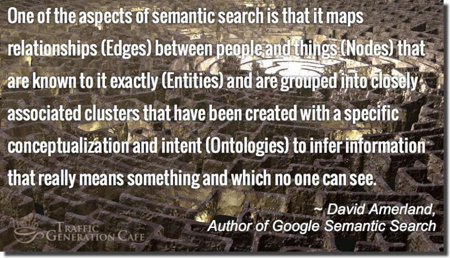 semantic search definition by david amerland