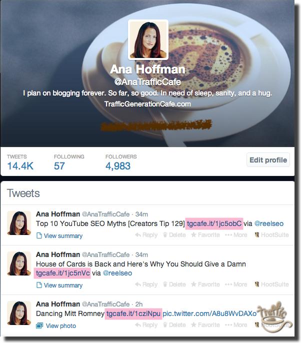 shortented twitter vanity urls example