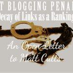 guest blogging penalties google matt cutts
