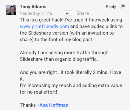 tony's comment on how to convert post to pdf