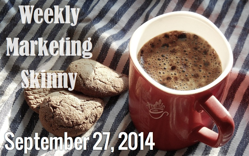 weekly marketing news september 27 2014
