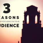 3 Reasons To Stop Focusing On Your Audience