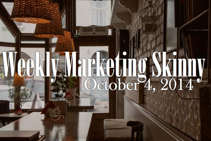 weekly marketing news october 4 2014