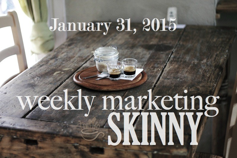 Get your weekly marketing news january 31, 2015