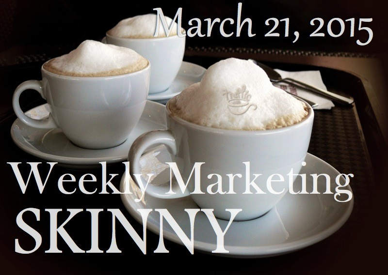 Weekly marketing news March 21, 2015