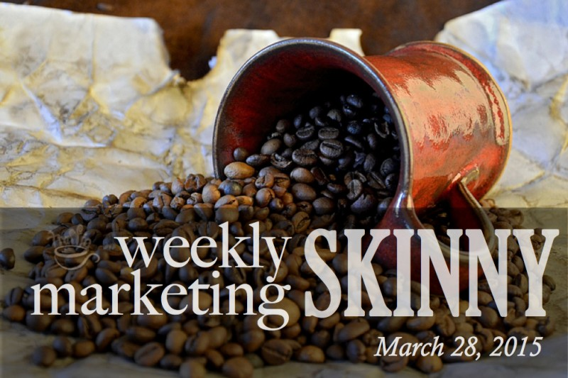Weekly marketing news march 28, 2015