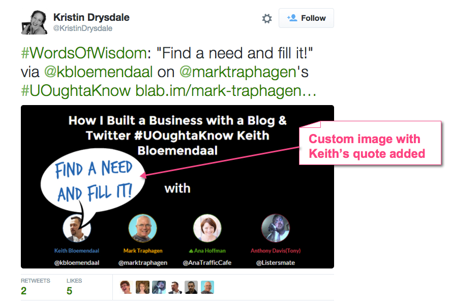 How Kristin Drysdale does influencer marketing