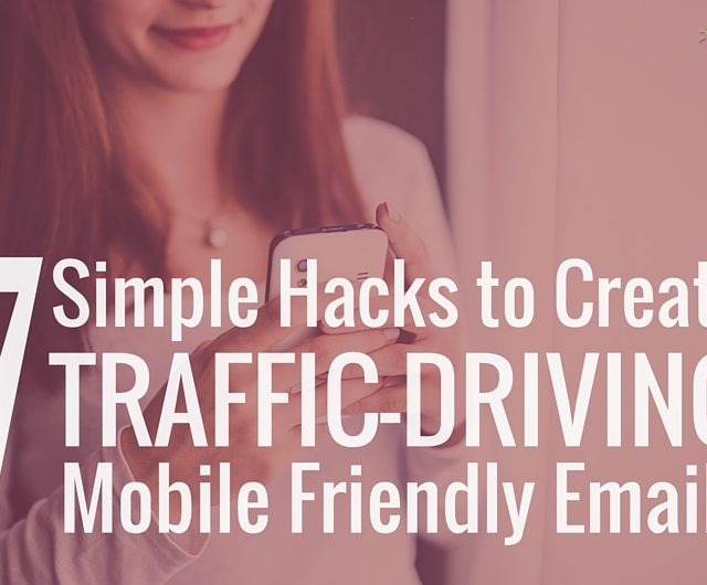 How to create mobile friendly emails