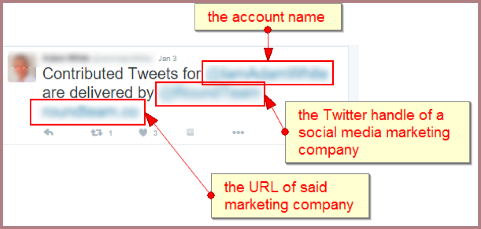 Relationship marketing: real fake tweets