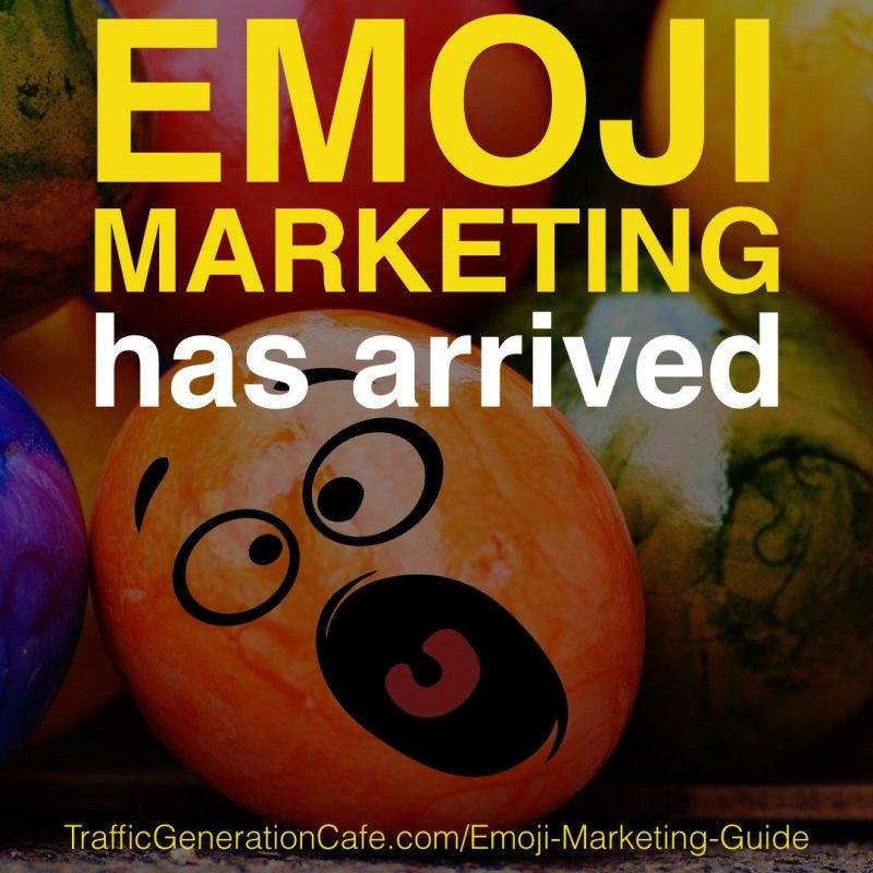 ? Emoji Marketing has arrived - bom, bom, boooooom! ❤️