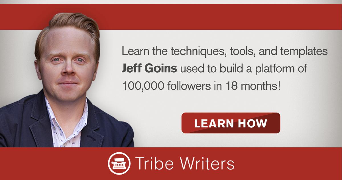 Jeff Goins' Tribe Writers