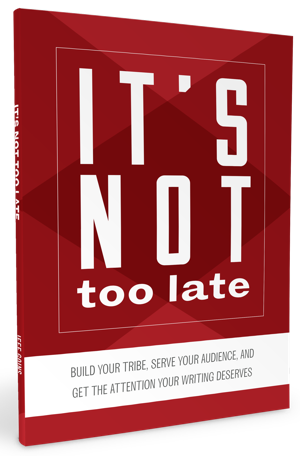 """Jeff Goins """"It's not too late"""" ebook"""