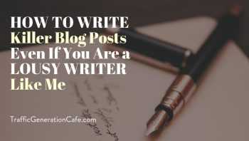 How to write killer blog posts: my writing routine