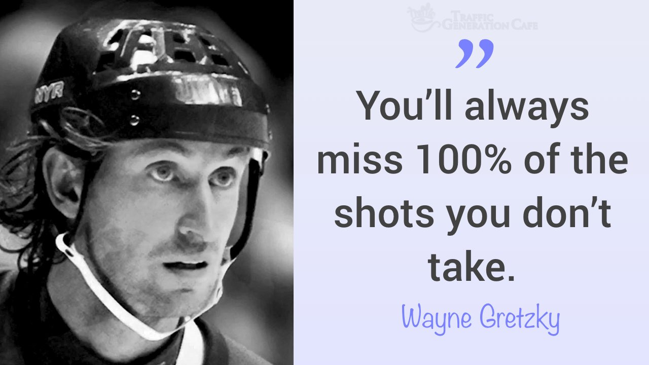 fear of failure quote by Wayne Gretzky
